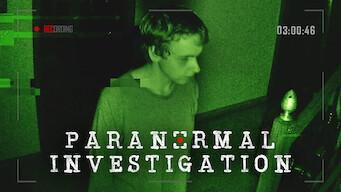 Paranormal Investigation (2018)