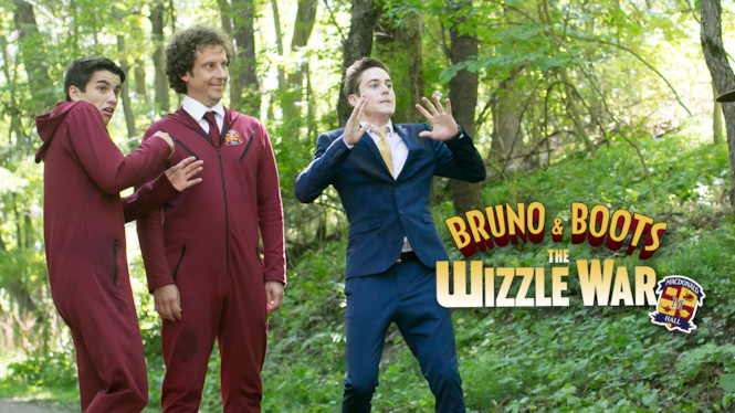 Bruno and Boots: The Wizzle War