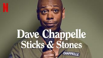 Dave Chappelle: Sticks & Stones (2019)