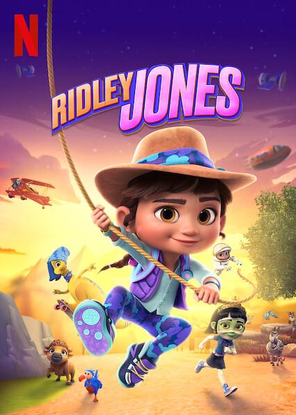 Ridley Jones on Netflix Canada