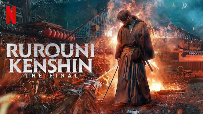 Rurouni Kenshin: The Final on Netflix Canada