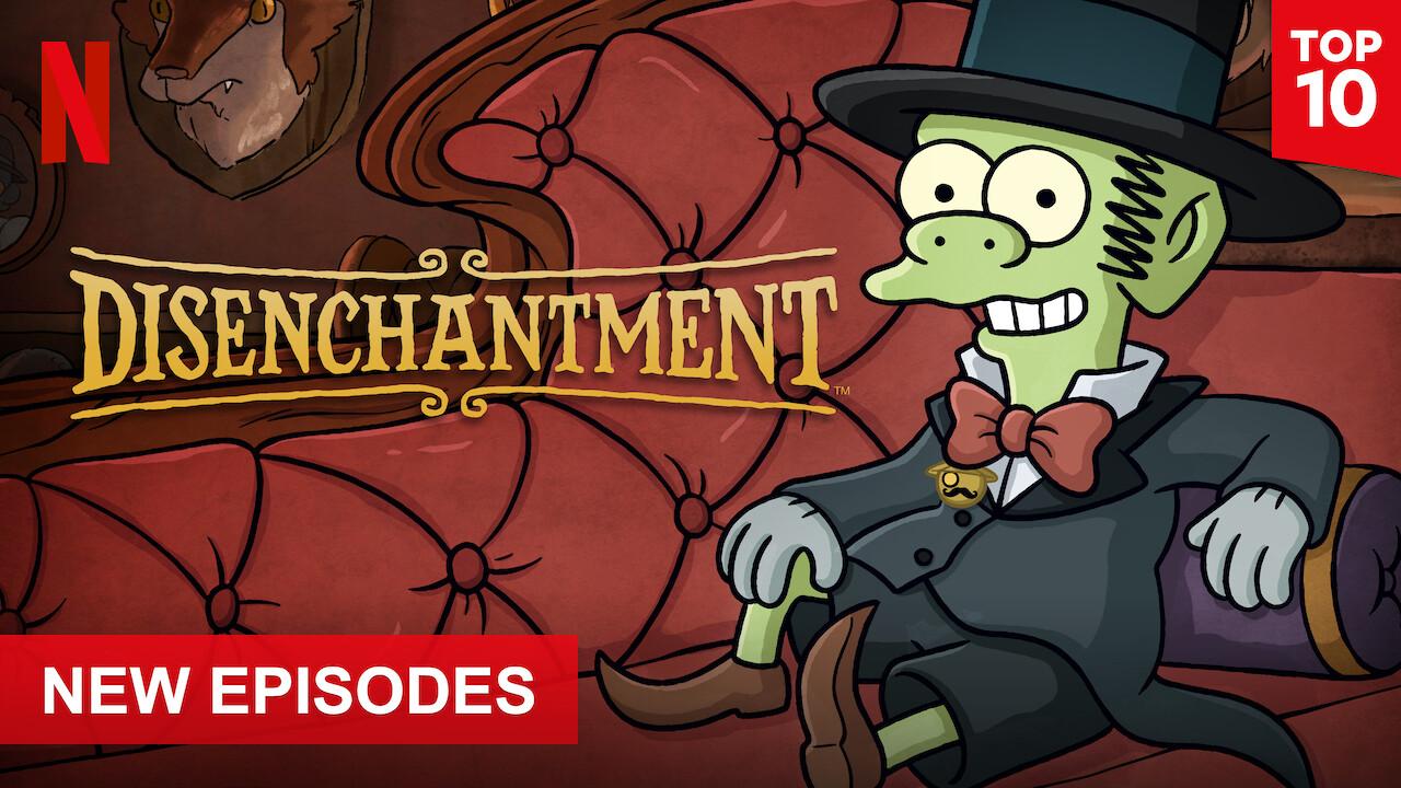 Disenchantment on Netflix Canada