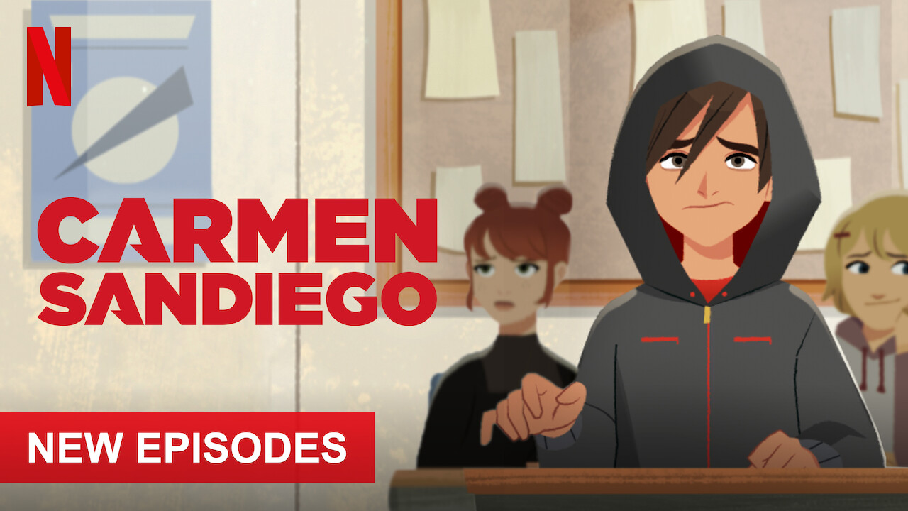 Carmen Sandiego on Netflix Canada