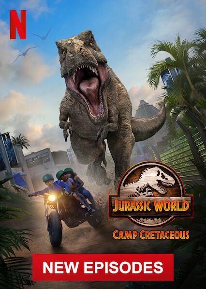 Jurassic World Camp Cretaceous on Netflix Canada