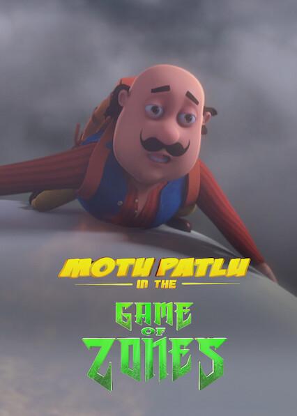 Motu Patlu in the Game of Zones on Netflix Canada