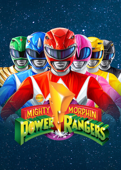 Mighty Morphin Power Rangers on Netflix Canada